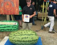 Jason Terry and his 259 lb watermelon